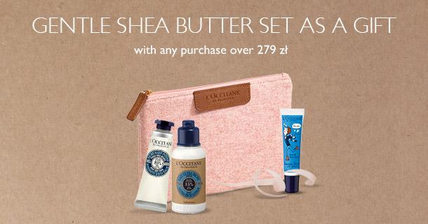 Gentle Shea Butter Set as a Gift