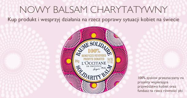 Nowy balsam charytatywny