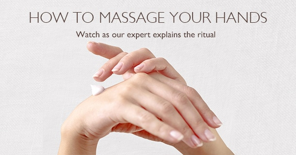 HOW TO MASSAGE YOUR HANDS