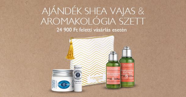 Shea vajas & Aromakológia szett