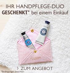 Karité Handpflege Angebot
