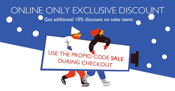 ONLINE ONLY EXCLUSIVE DISCOUNT