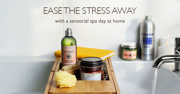 Enjoy a sensorial spa day at home