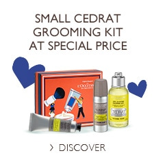 Small Cedrat grooming kit