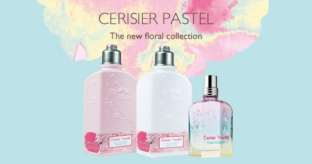 The New Floral Collection Cerisier Pastel