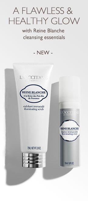 Reine Blanche cleansing essentials