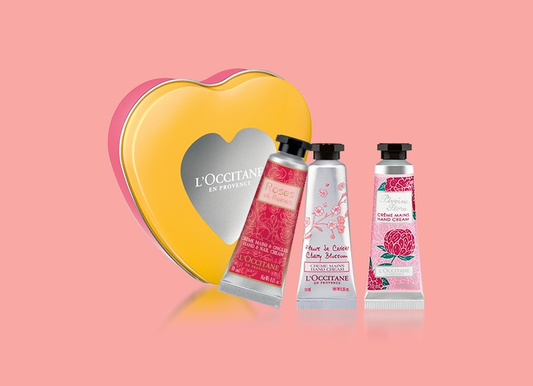 Flowery Hand Cream Trio for special price