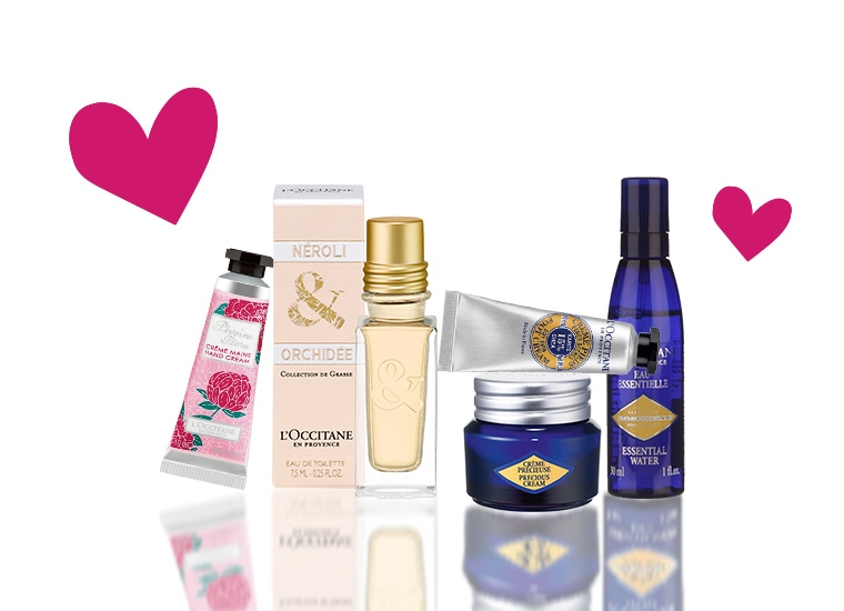 Precious Immortelle & Flowery Set as a gift