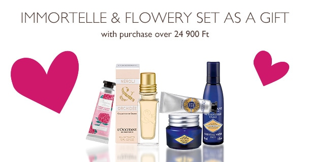 Immortelle & Flowery Set as a gift