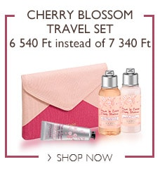 Cherry Blossom Travel Set