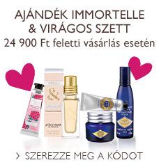 Ajándék Immortelle & virágos szett