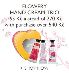 Flowery Hand Cream Trio