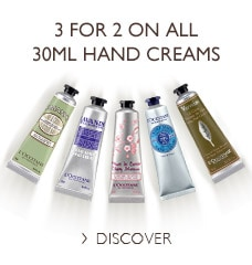 3 for 2 on all 30ml Hand Creams