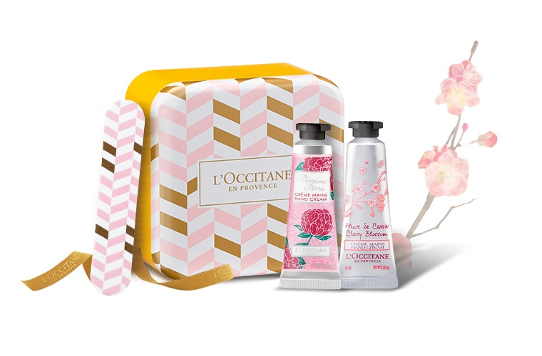 Flowery Hand Care Set for special price