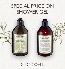 Special price on shower gel