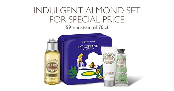Indulgent Almond Set for special price