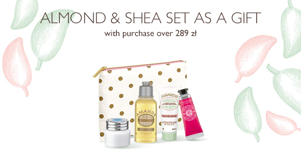 Almond & Shea Set as a gift
