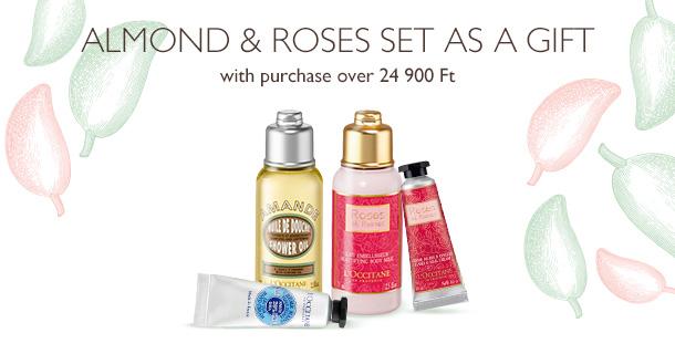 Almond & Roses Set