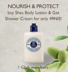 shea shower cream>