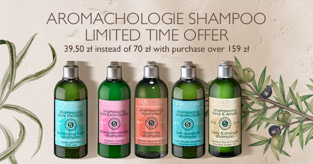 Aromachology Shampoo - limited time offer