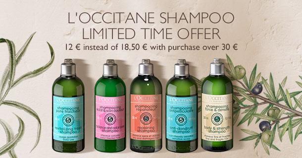 L'Occitane Shampoo - limited time offer