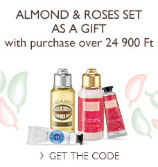 Almond & Roses Set as a gift