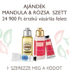 Ajándék Mandula & Rózsa  szett