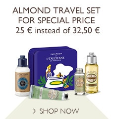 Almond Travel Set for special price