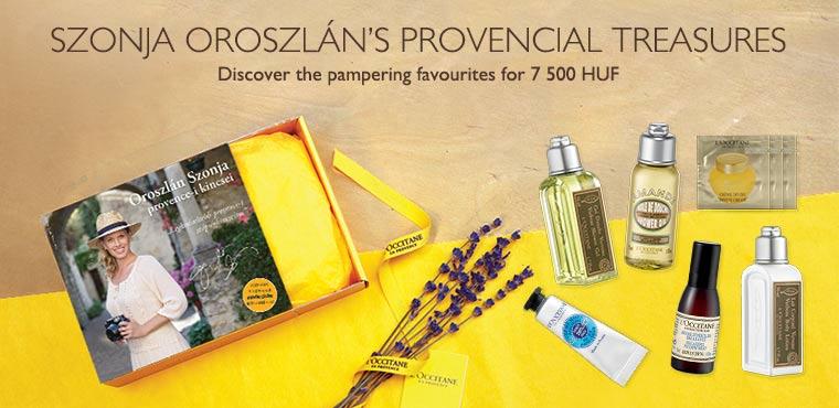 Discover Szonja Oroszlán's provencial treasures
