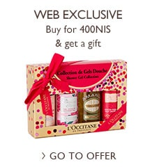 Shower gel quartette kit offer>