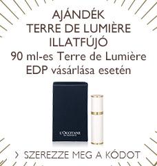 Ajándék Terre de Lumière  illatfújó