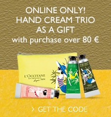 Hand Cream Trio as a Gift