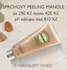 Sprchový peeling Mandle