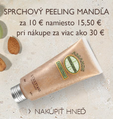 Sprchový peeling Mandľa