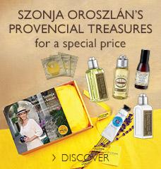 Szonja Oroszlán's  provencial treasures