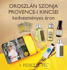 Oroszlán Szonja Provence-i kincsei