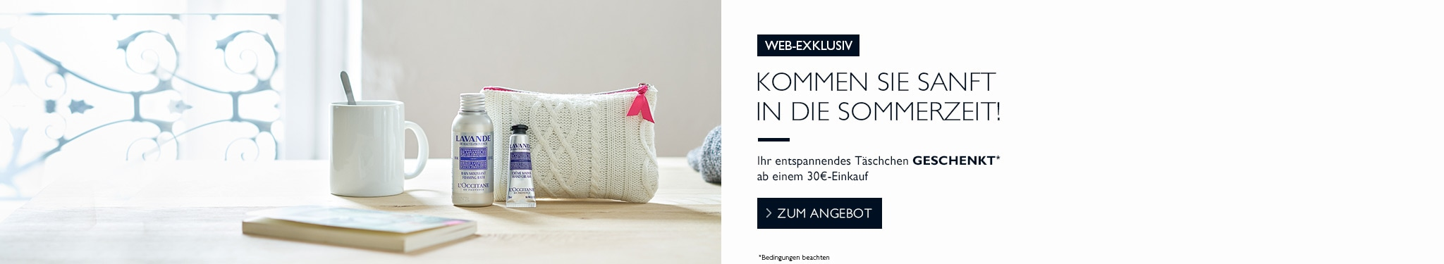Entspannungs-Angebot