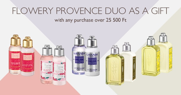 Flowery Provence Duo as a Gift