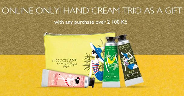 Hand Cream Trio as a Gift