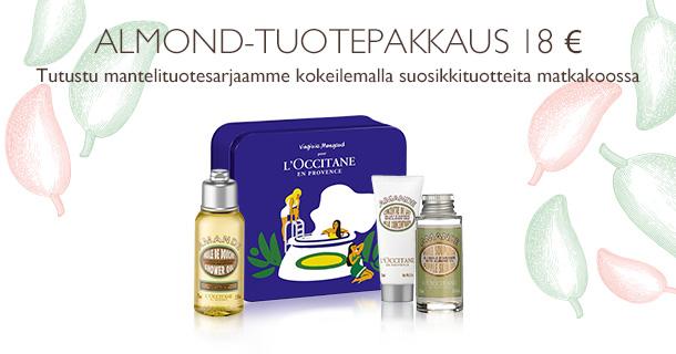 Almond-tuotepakkaus