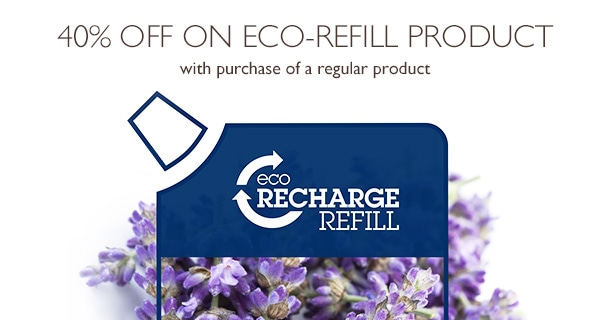 40% off on eco-refill product