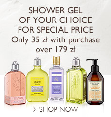 Shower gel of your choice for special price