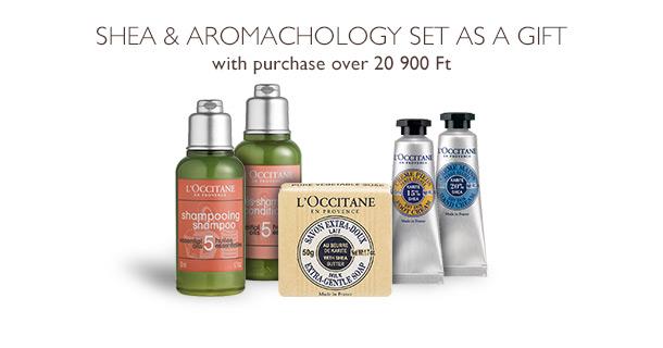Shea & Aromachology set as a gift