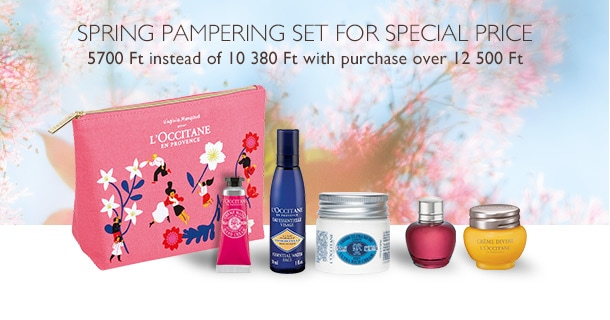 Spring Pampering set for special price