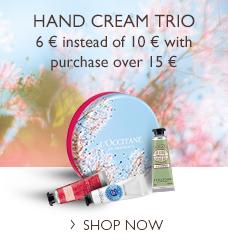 Hand Cream Trio