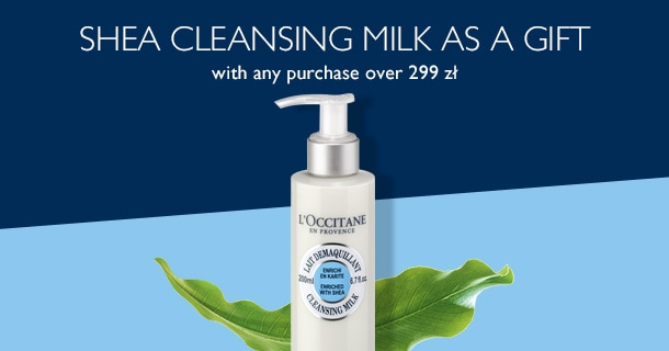 Shea Cleansing Milk as a Gift