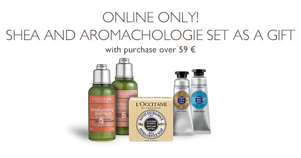 Online Only! Shea and Aromachologie Set as a Gift
