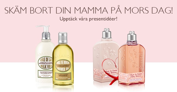 Skäm bort din mamma på Mors Dag!