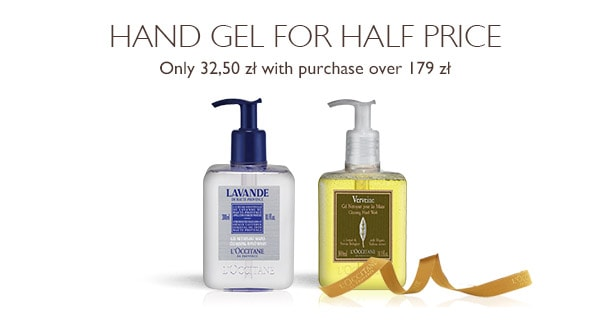 Hand Gel for Half Price