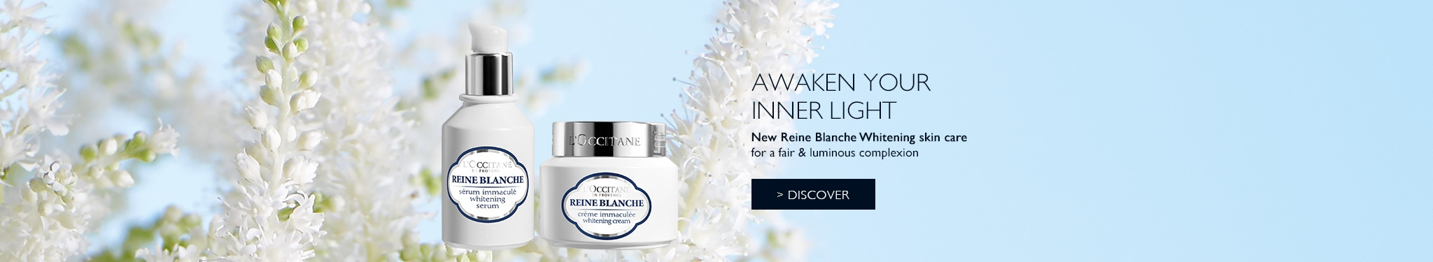 New Reine Blanche Brightening skin care